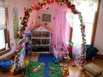 Elysa's Enchanted Fairy Garden Playspace