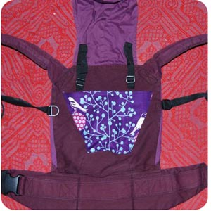 ergo baby carrier plum