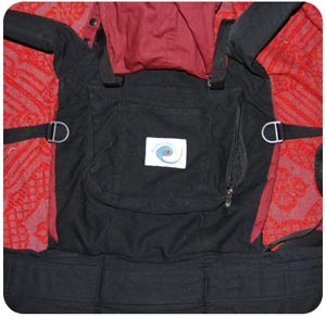 f174458f428 Dyed Ergo Baby Carrier Instructions for Altering