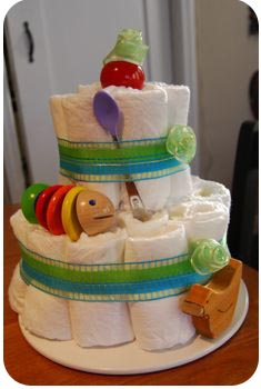 diaper cake homemade