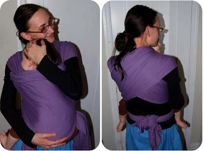 make baby sling