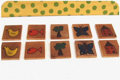 make wooden memory game
