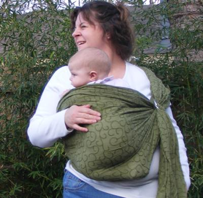 How do you make a baby sling?