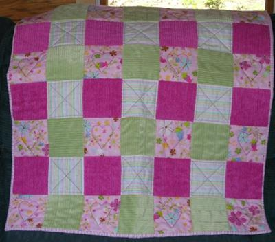 Mommy's Love Quilt for Ava