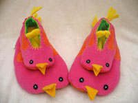 bird slippers