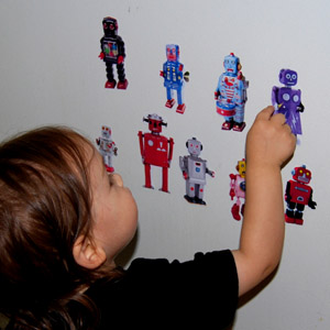 robot magnets