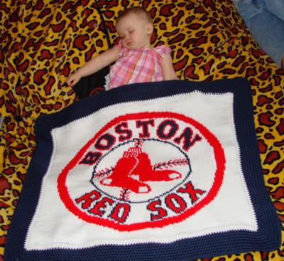 Red Sox Blanket
