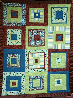 Chocolate Lime Quilt