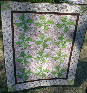 Quilt for Bright
