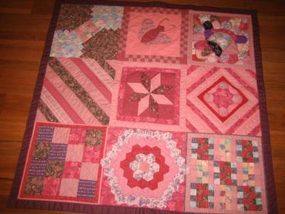 Deloris Pickens Baby Quilter Sampler for Baby Grace