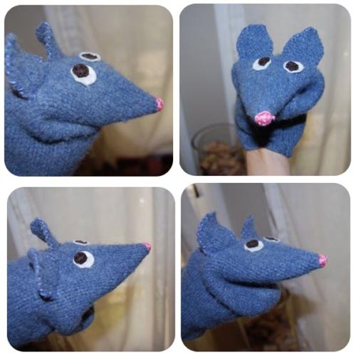free mouse puppet pattern