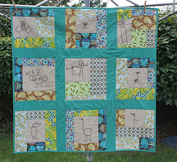 Holden's Drawings Quilt