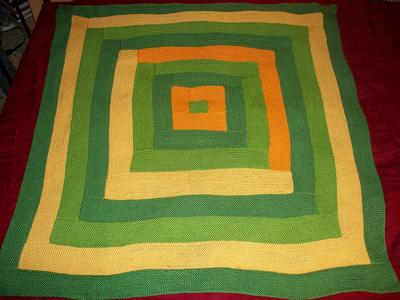 The finished blanket!