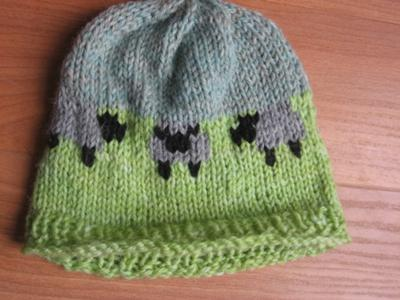 SHEEP!  Baby Hat