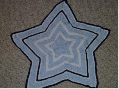 Star Blanket, perfect for a Texas baby