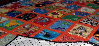 Lollipop Forest I-Spy Quilt - craft hope - {spreading seeds of